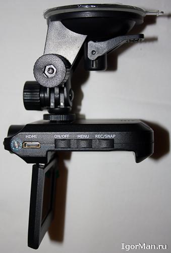 Видеорегистратор автомобильный HD 720 (является абсолютным аналогом таких моделей, как HD-720-IR DVR, DVR-037, HD 037 DVR, HD 720 P, HD 720 P DVR-007)