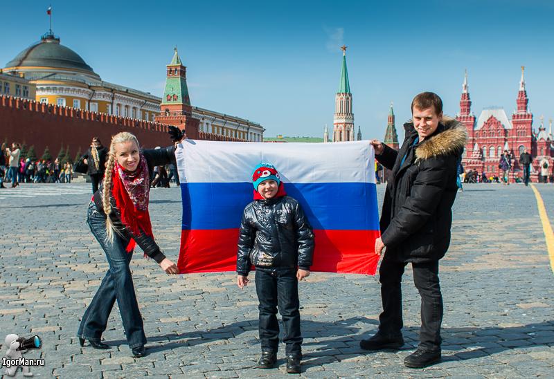 Организовать фотосессию на Красной площади