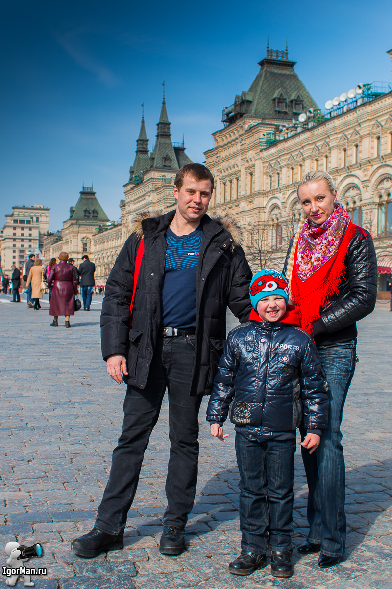 Заказать фотосессию на Красной площади