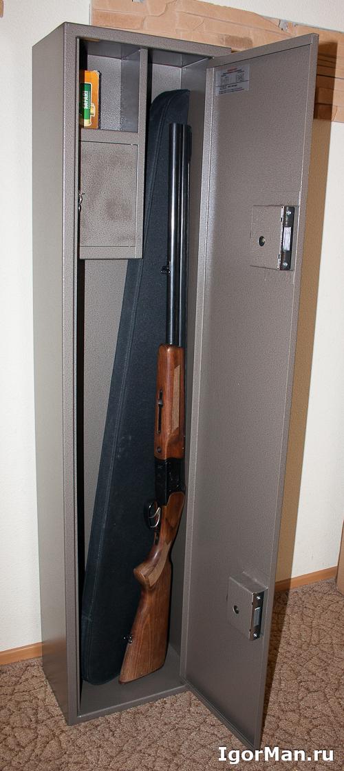 Сейф для ружья - Народный шкаф от участкового - Оружейный шкаф Д-6Е