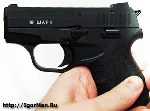 Новый пистолет Shark