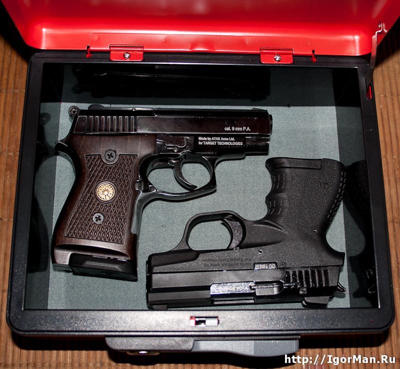 CB-9705 - Сейф для пистолетов СТРИМЕР и ШАРК