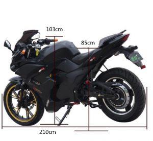 Характеристики электрического мотоцикла
