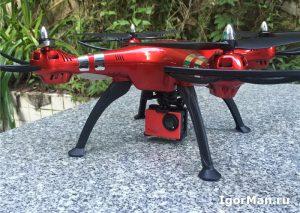 Квадрокоптер SYMA X8HG 4К FPV - обзор, купить квадрокоптер Syma с FPV.